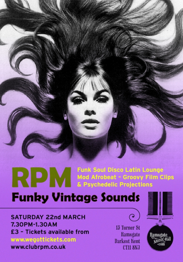 RPM @ Ramsgate Music Hall - 22nd March 2014